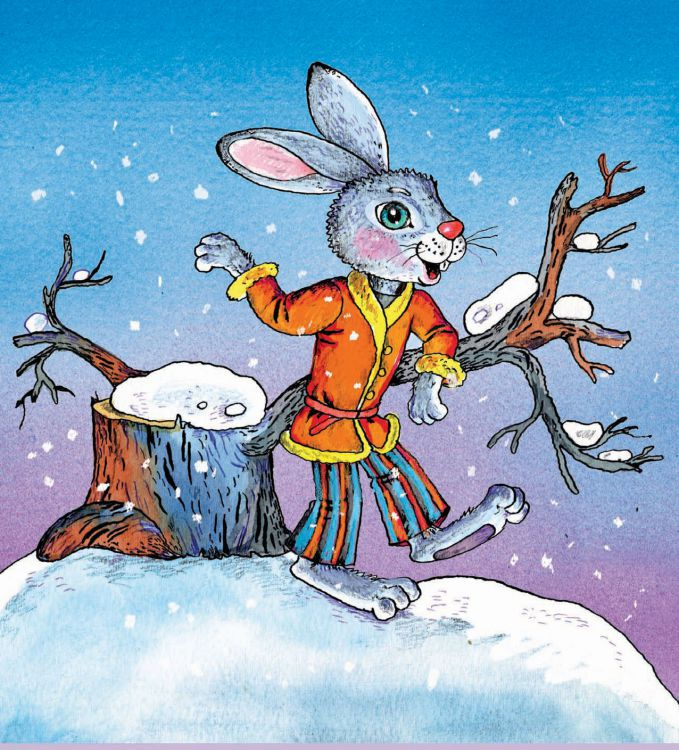 Картинка зайцы из сказок