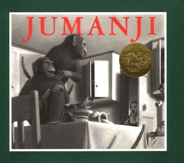 Van Allsburg, Chris. Jumanji (Джуманджи) (ill. Van Allsburg, Chris). HMH Books for Young Readers, Library Binding edition, 1981
