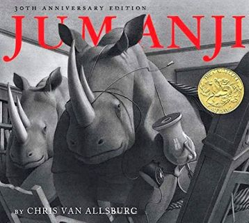 Van Allsburg, Chris. Jumanji (Джуманджи) (ill. Van Allsburg, Chris). HMH Books for Young Readers, 2011