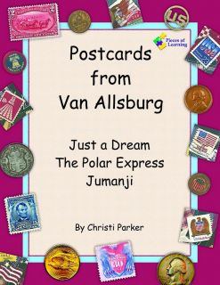 Parker, Christi. Postcards from Van Allsburg (ill. Van Allsburg, Chris). Pieces of Learning, 2005